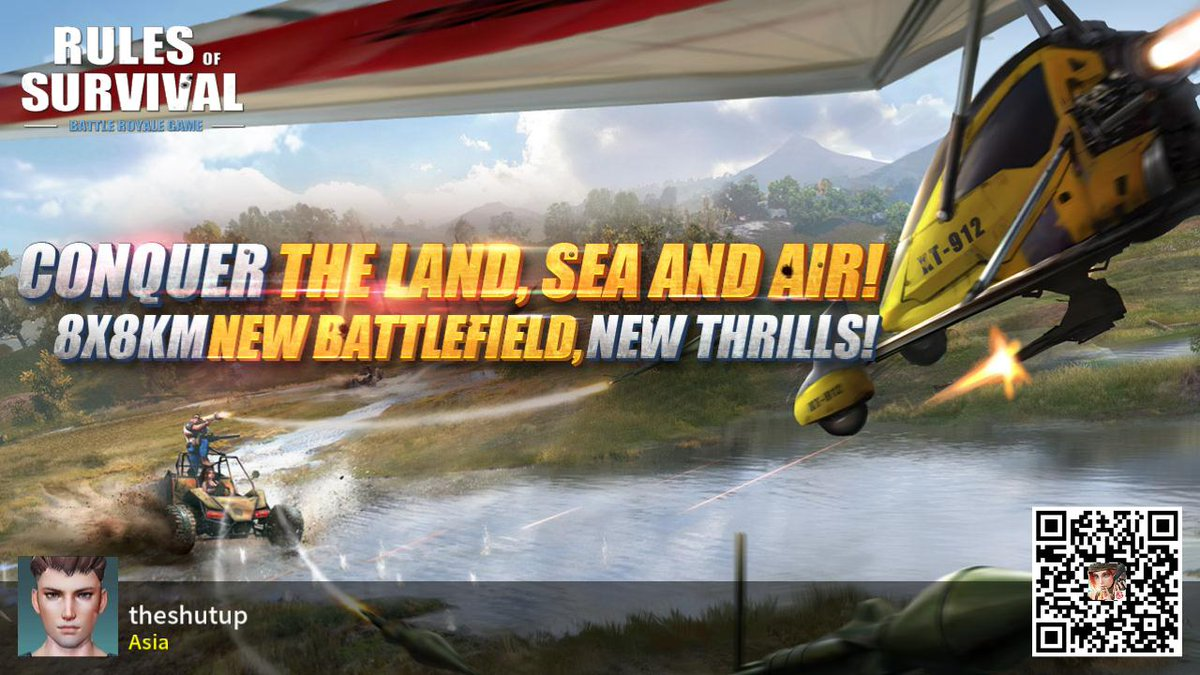 #RulesofSurvival https://t.co/6hLj3GQ7ua