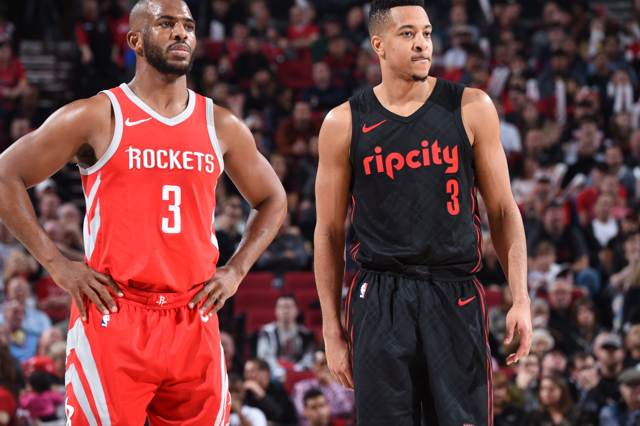 Nice Timeout:  #Rockets 69  l  Blazers 67  ⏰ 6:5 https://t.co/ghU5FZlUyw