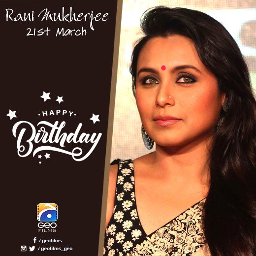 Happy Birthday Rani Mukerji!
