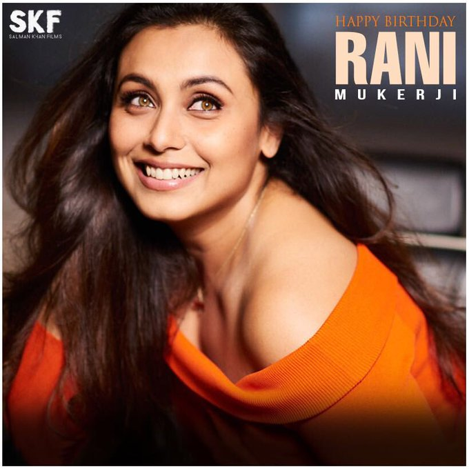 Wishing Rani Mukerji a very happy birthday! We can\t wait for Hichki!