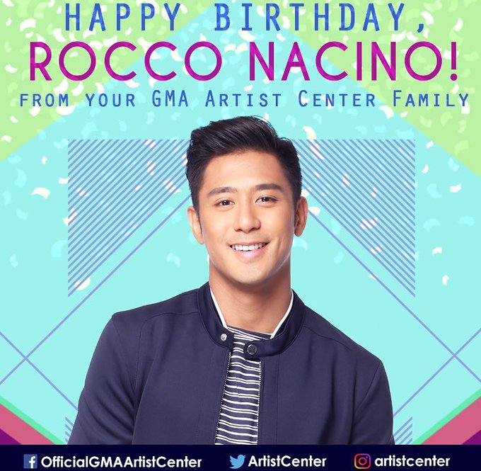 Happy Birthday, Rocco Nacino! We hope your day is as special as you are!