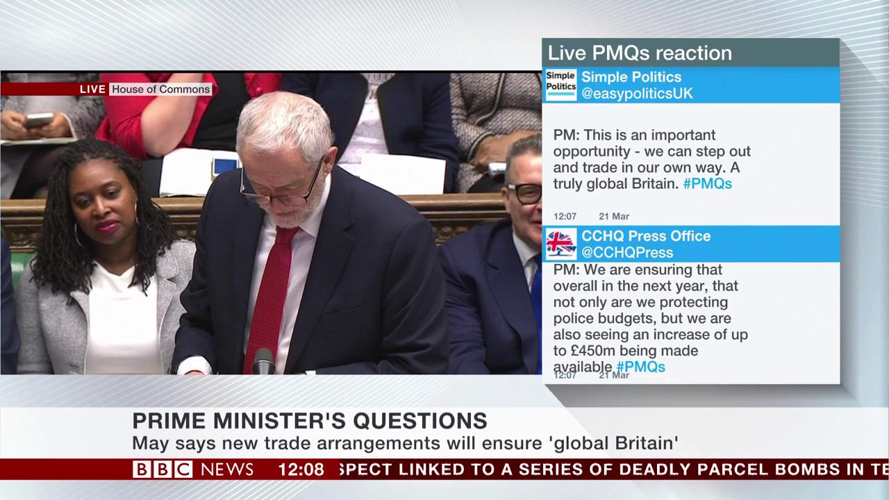 .@jeremycorbyn attacks @theresa_may over collapse of Northamptonshire Council #pmqs https://t.co/GVMr9JdkjJ https://t.co/1FhSlgxxA8