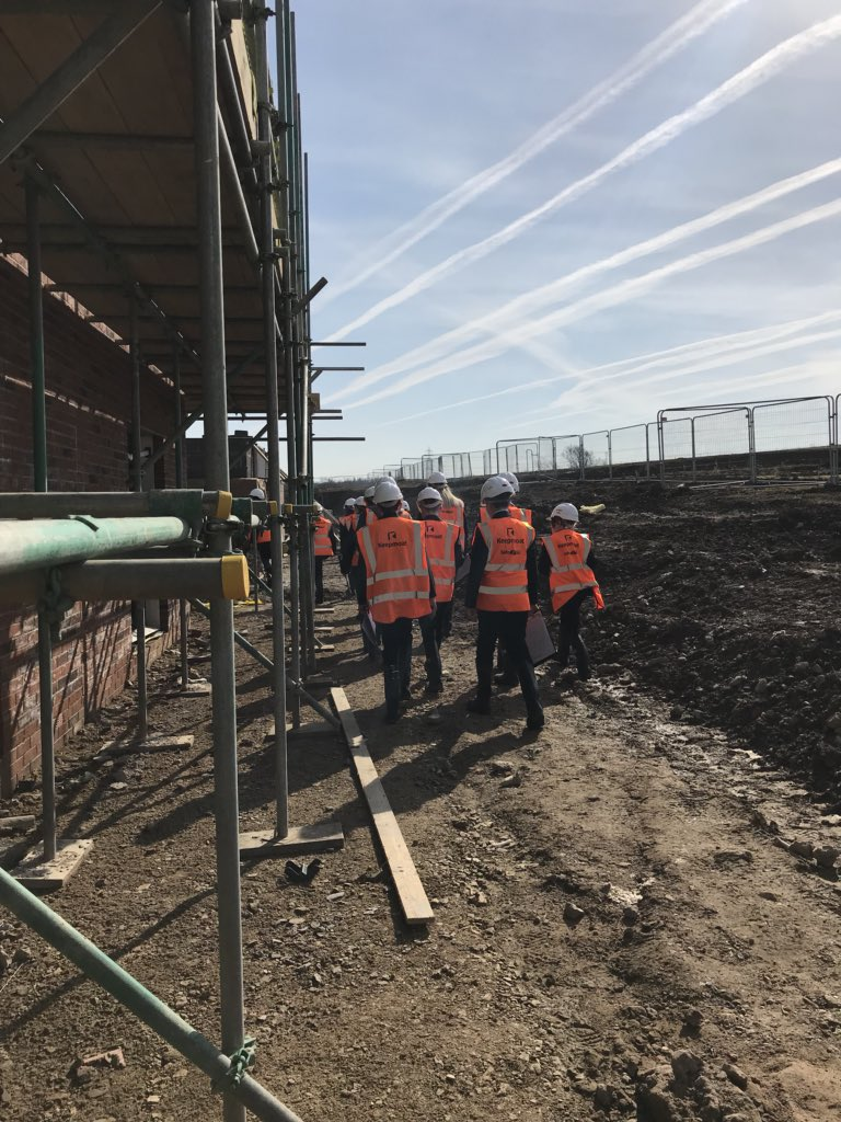 test Twitter Media - Fantastic to see a real working construction site this morning with @airedaleacademy and @CastlefordAcad! Thanks for having us @KeepmoatHomes 🏠 #startyourjourney https://t.co/cGO4Qo0Kuk