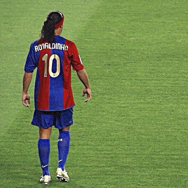 """I learned all about life with a ball at my feet.\"" - Ronaldinho Gaucho.   Happy Birthday! My favorite player!"
