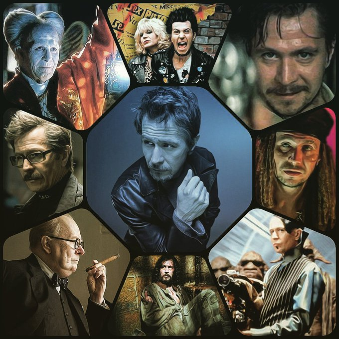 Wishing a Happy 60th Birthday to one of Britain\s best actors... Gary Oldman