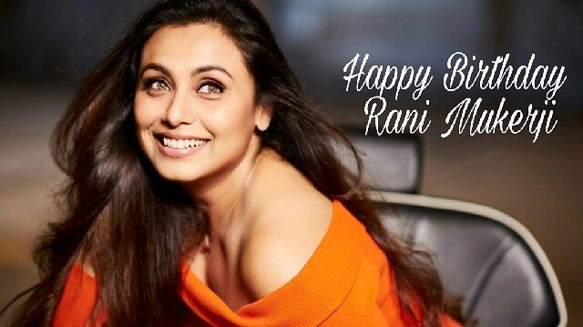 Here\s wishing the gorgeous-Rani Mukerji, a very happy birthday!