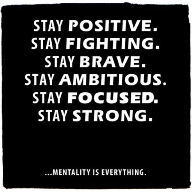 Mentality is everything 💪🏻 https://t.co/rJofrGW4KK
