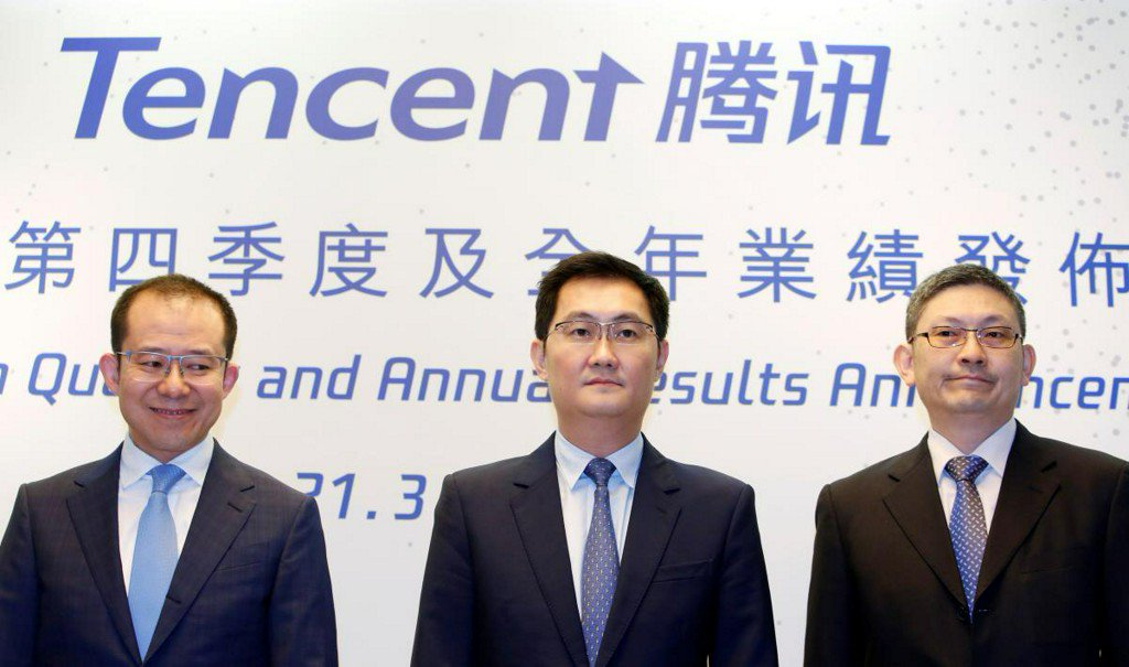 Tencent fourth-quarter profit nearly doubles, beats estimates on investment gains https://t.co/5CNWoQM2z1 https://t.co/4zlz9tyPlY