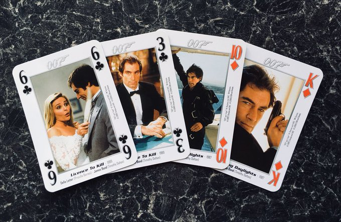 How am I supposed to maintain any sort of poker face with a hand like this? Happy birthday, Timothy Dalton!