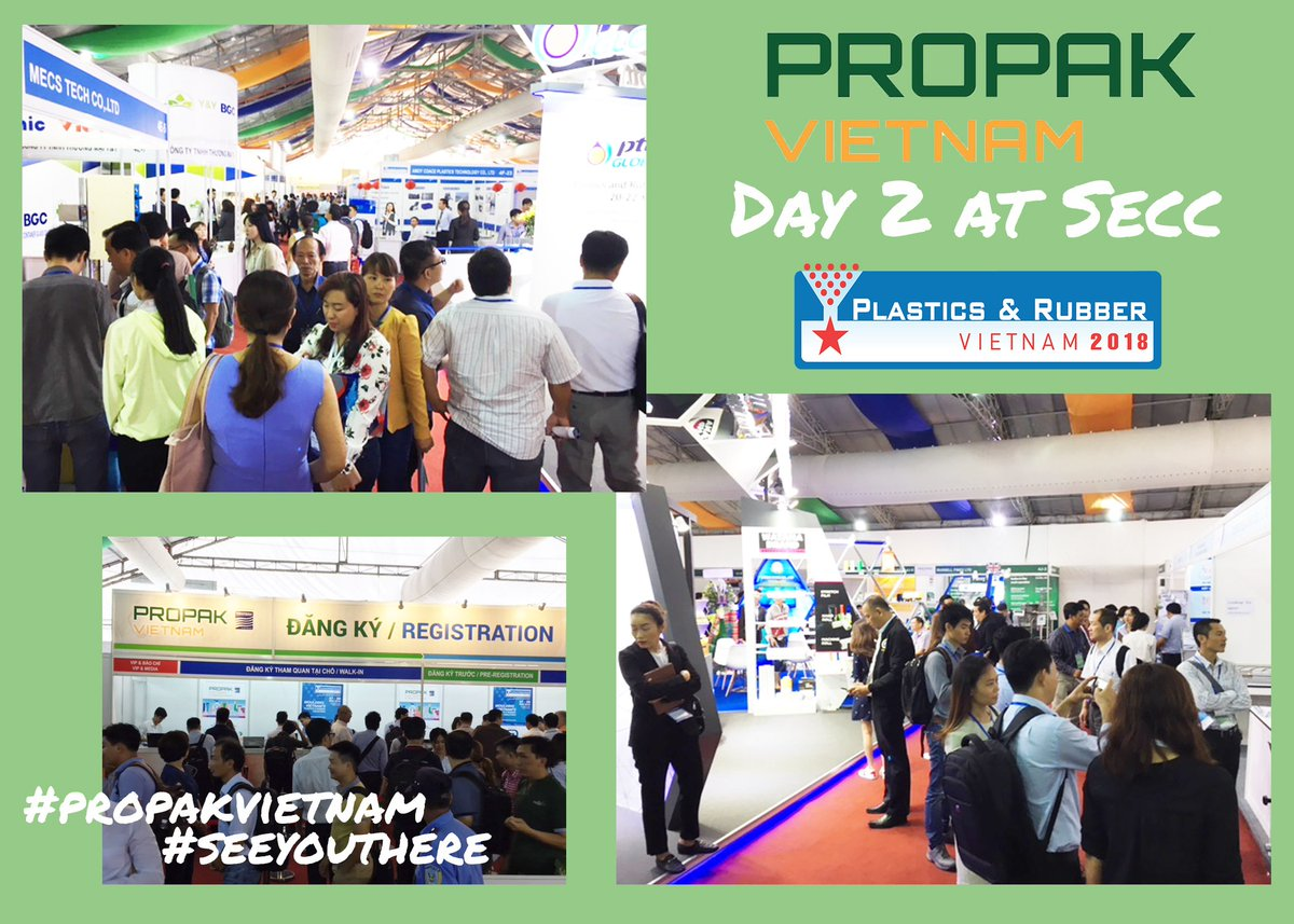 test Twitter Media - Day two at ProPak Vietnam saw big crowds and machines! Hashtag #propakvietnam to share your on-site experience #propak #propakvietnam2018 #seeyouthere https://t.co/58PQ4FLWE9