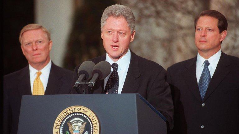 Bill Clinton Impeachment Drama Series Scrapped at History