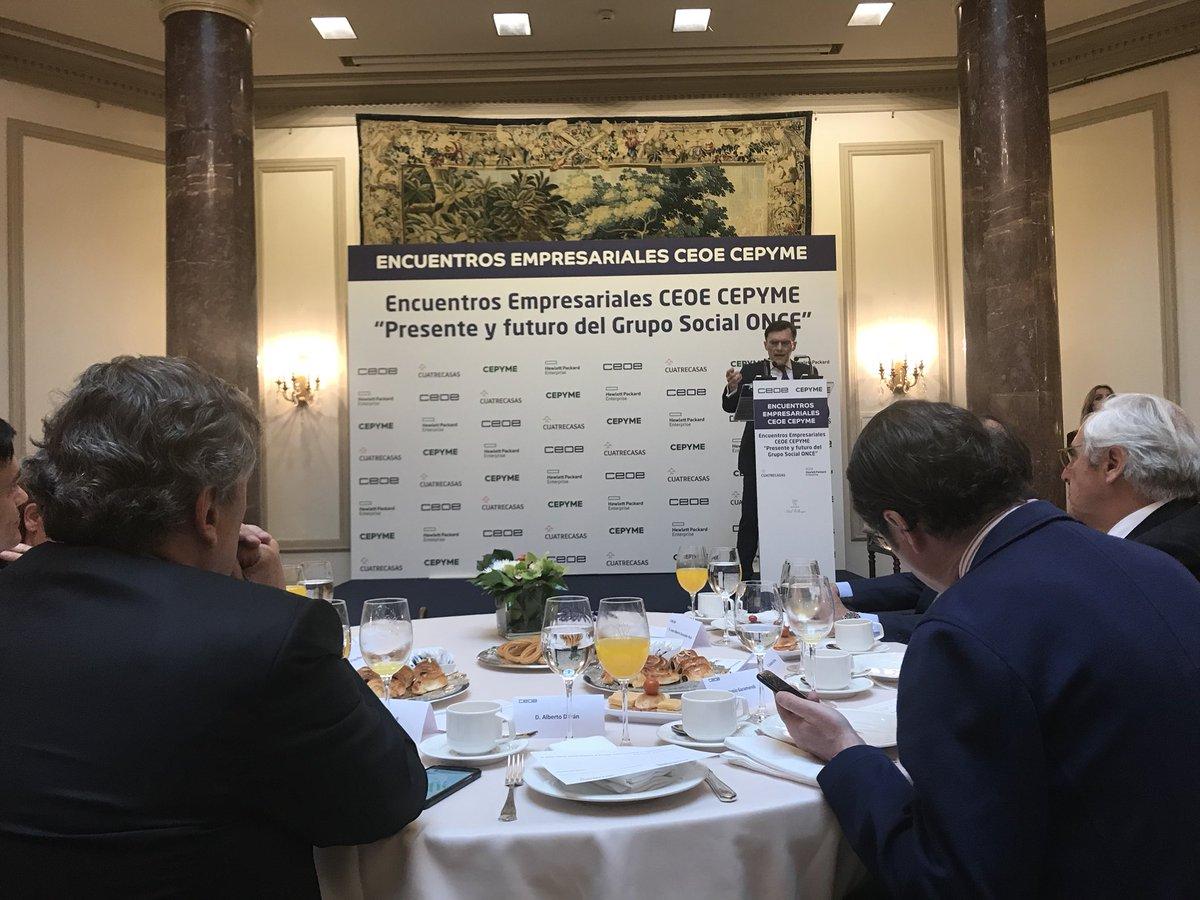 test Twitter Media - Escuchando a Alberto Durán, presidente de @ILUNION  en el desayuno informativo de @CEOE_ES https://t.co/5IpxC2QArh