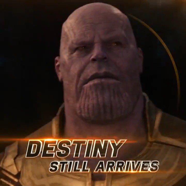 The end is near. Marvel Studios' 'Avengers: #InfinityWar' comes to theaters April 27. https://t.co/KjJppDlpoG