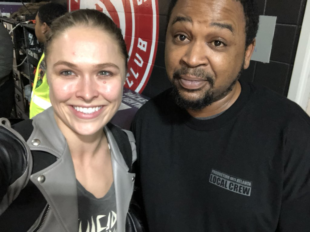 I met another Rousey last night!! https://t.co/qnCQfx0ZHg