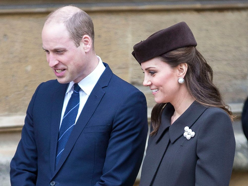 Kate Middleton And Prince William Broke Royal Protocol On Easter Sunday