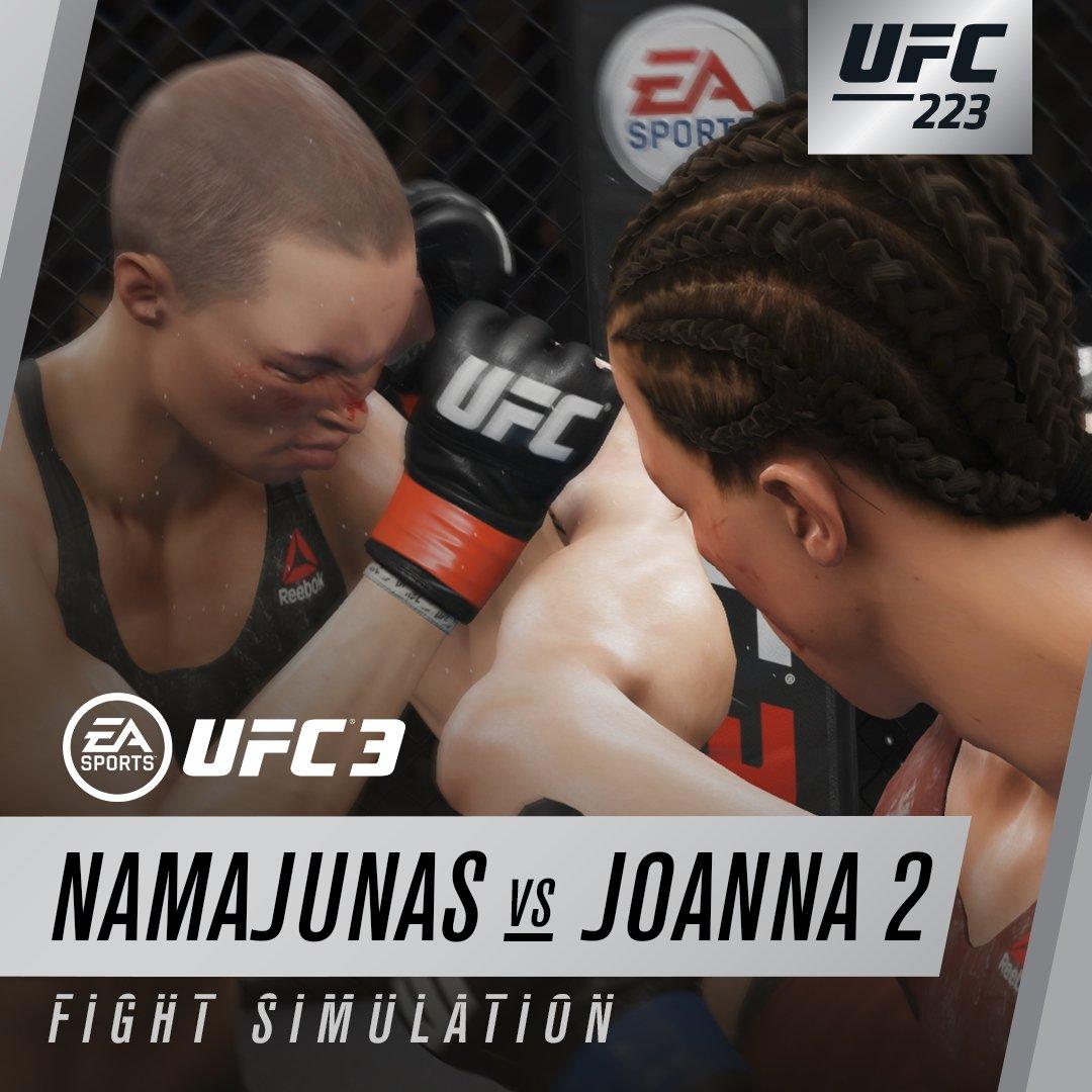 #UFC223 is going to be  ????????!! Download the #EAUFC3 trial April 5-9  ???????? https://t.co/liNoQO48jd https://t.co/Vb1z8bAKQe