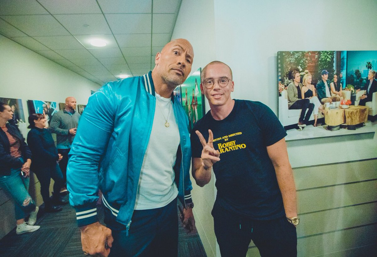 RT @Logic301: . @TheRock and The Pebble ???????????????????? https://t.co/hflA9EQu3m