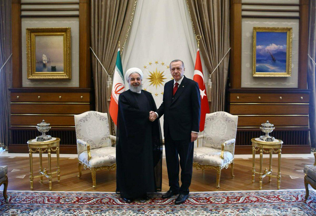 Turkish, Iranian leaders meet ahead of Syria summit with Russia