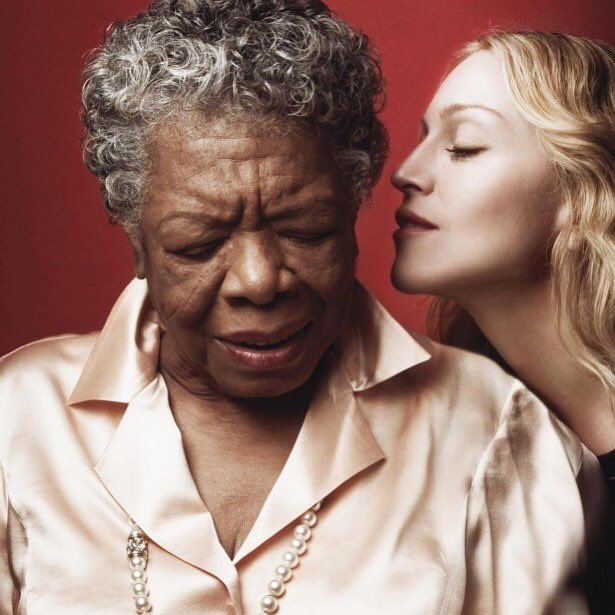 Still We Rise..............because of you! #mayaangelou ♥️♥️♥️♥️Happy Birthday! ???? #poet #profound #woman #powerful https://t.co/MxBIbGT2iO