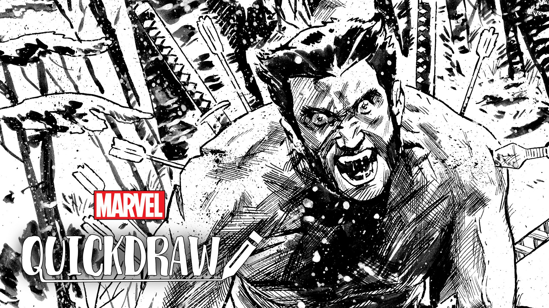 Artist @mister_walsh brings Wolverine to life in a new episode of #MarvelQuickdraw! ✏️ #ad https://t.co/75KDV2MPca