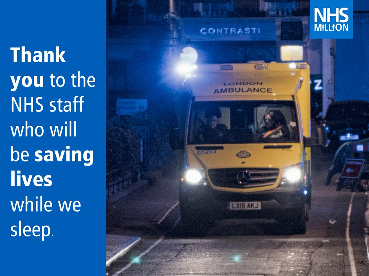 RT @NHSMillion: Please RT for the amazing NHS staff who will be saving lives while we sleep. https://t.co/kSGBDWdEFx