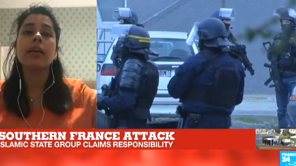 'The modus operandi of this attack is similar to what the IS group preaches'