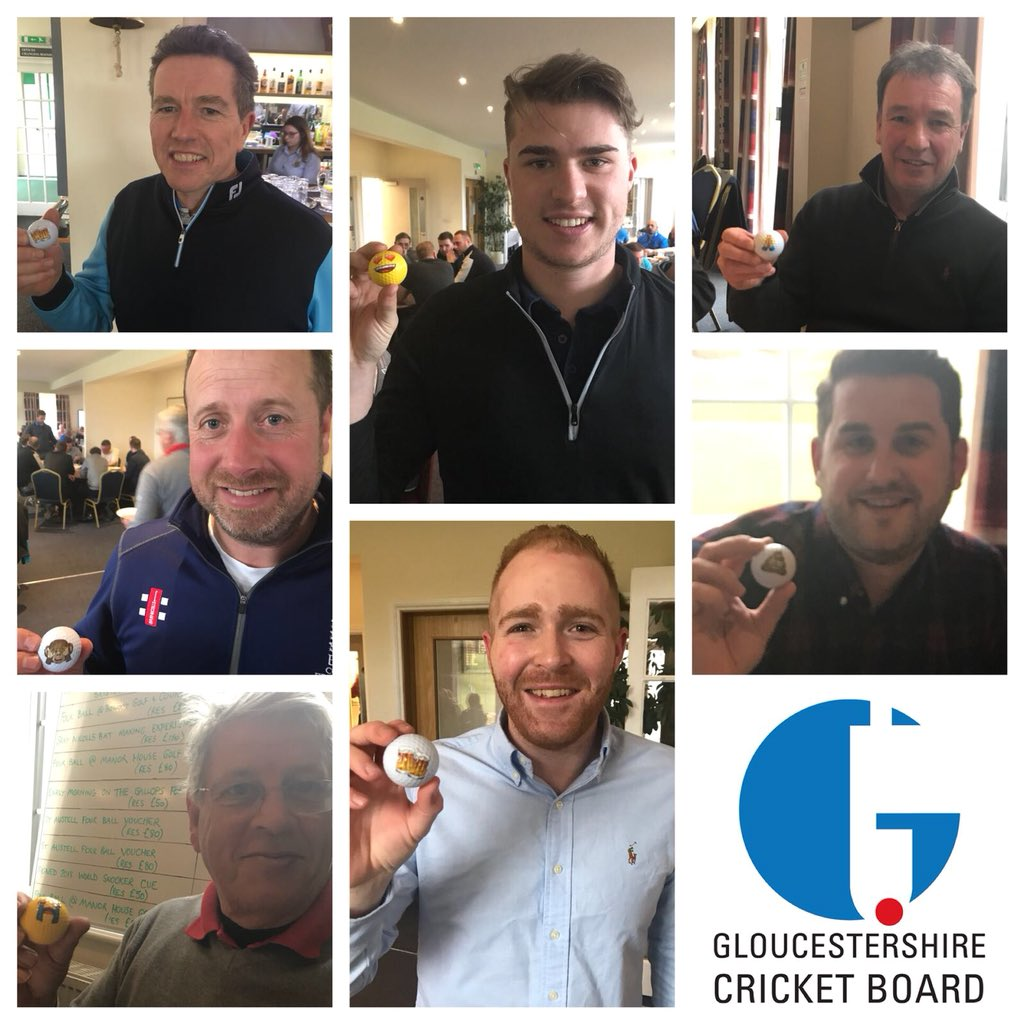 test Twitter Media - A final word on #GCBGolfDay 2018 sponsored by @StAustellBrew.  A huge thank you to everyone for your support and generosity towards recreational cricket in Glos today.  We leave you with photos of winners @CharltonKingsCC & golfers describing their day through emoji golf balls... https://t.co/aya9jwa4th