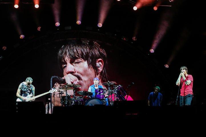 @BroadcastImagem: A banda Red Hot Chili Peppers encerra o primeiro dia do Festival Lollapalooza. Rafael Arbex/Estadão