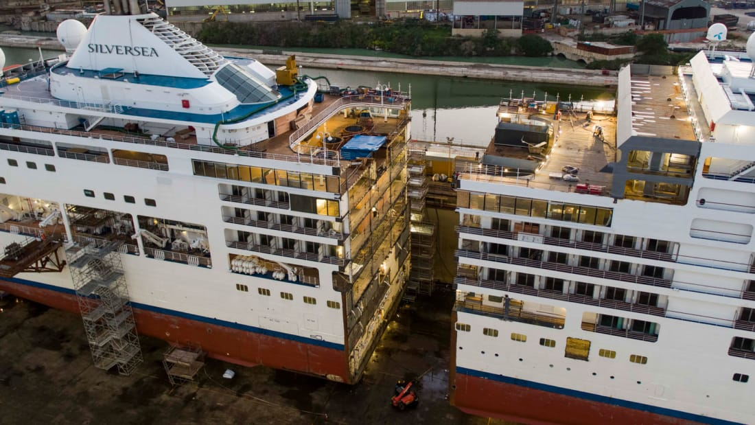 This luxury cruise ship has been sliced in half (via @CNNStyle)