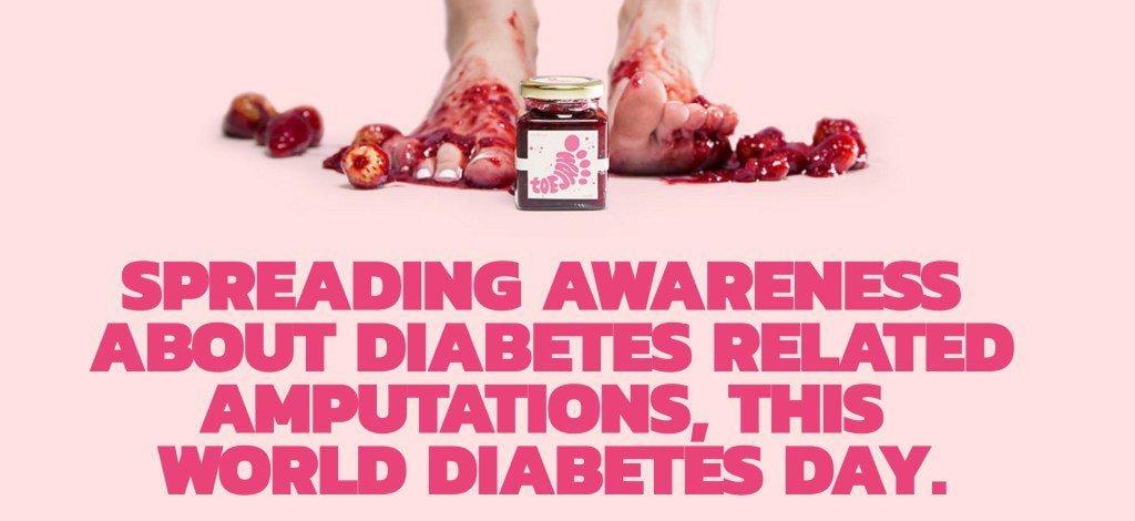 RT @dgarmstrong: #ToeJam: Sweetness for the Diabetic Sole #WorldDiabetesDay https://t.co/fN6zvJcoug https://t.co/CdwBSSdlYj