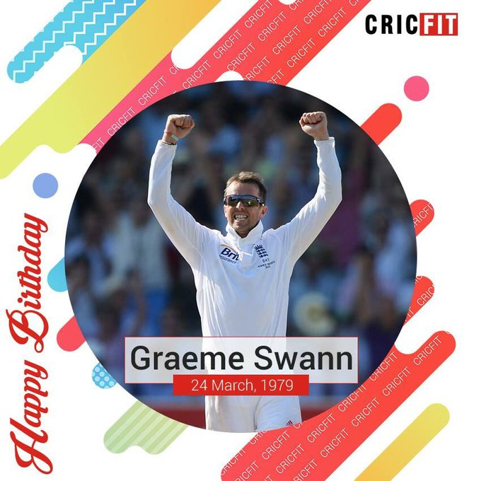 Cricfit Wishes Graeme Swann a Very Happy Birthday!