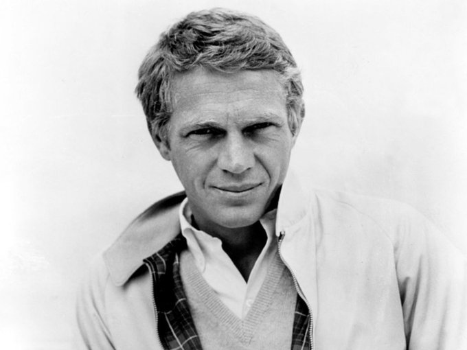 "Happy Birthday to the ""King of Cool\"", Steve McQueen!"