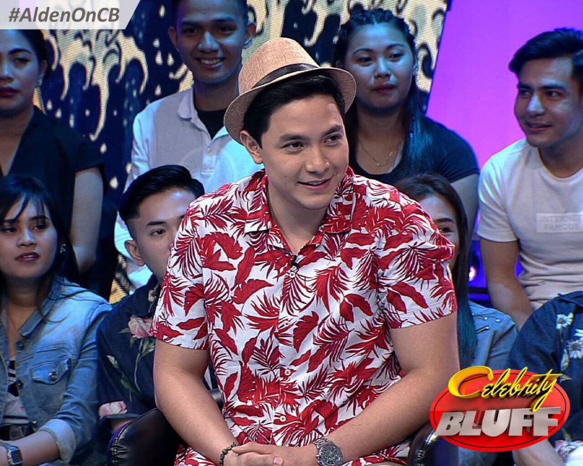 RT @ALDENPHILS: RT IF YOU ARE NOW WATCHING @CelebrityBluff for @aldenrichards02 #AldenOnCB https://t.co/7yxFQ5bQqu