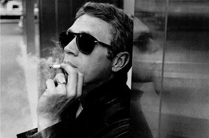 """I live for myself and I answer to nobody.\"" - Happy Birthday Steve McQueen!"