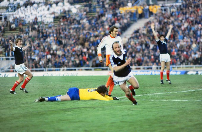 Happy birthday Archie Gemmill - scorer of THAT goal for Scotland against the Netherlands in 1978