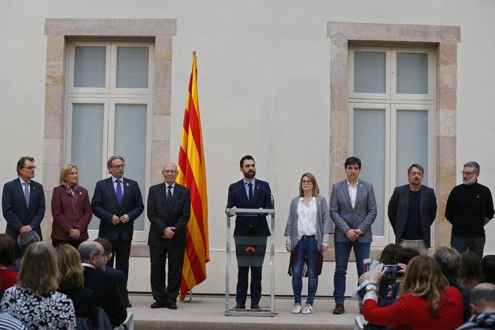 @BroadcastImagem: Catalunha suspende eleição parlamentar após prisão de líder separatista. Manu Fernandez/AP