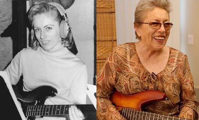 Happy Birthday to the bass queen,  Carol Kaye!