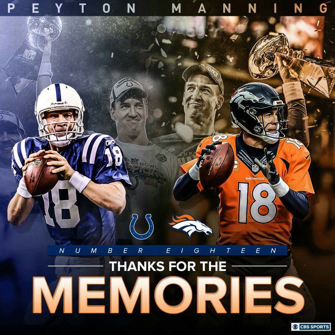 Happy birthday to the GOAT Peyton Manning