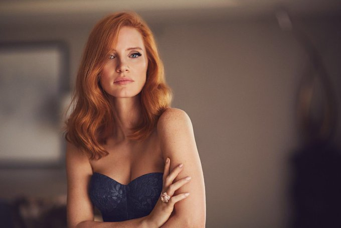 Happy birthday to the very beautiful Jessica Chastain