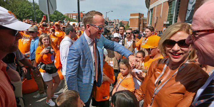 LOOK: Tennessee wishes legendary QB Peyton Manning a happy birthday