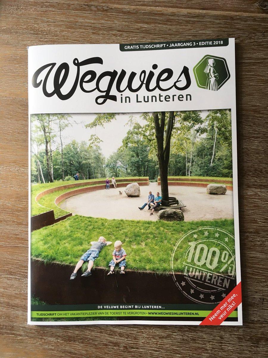 test Twitter Media - Het blad Wegwies in Lunteren ligt voor iedereen weer klaar bij de receptie. Wederom boordevol nieuwtjes en weetjes! #Lunteren #Veluwe #kamperen #camping https://t.co/6mmXAnMDLF