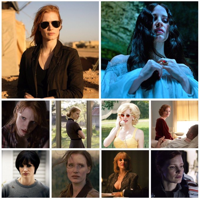 Happy birthday, Jessica Chastain (b.1977)! Which of her performances is your favourite?