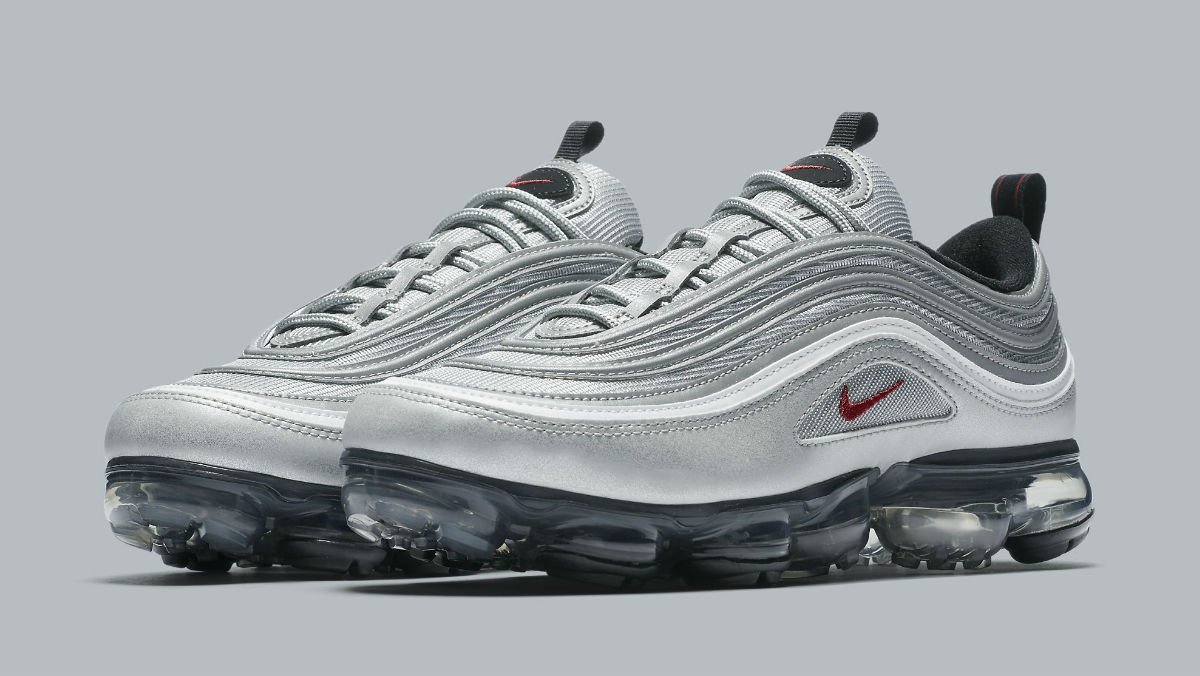 'Silver Bullet' Nike Air VaporMax 97 will release on April 12. https: