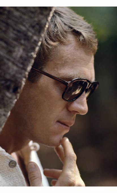 Happy Birthday Steve McQueen  Photographed by Jean-Marie Périer - Spain, 1969