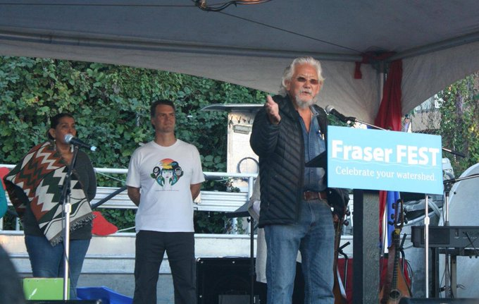 Happy Birthday David Suzuki! (listen to him speak at FraserFest 2015 in Vancouver