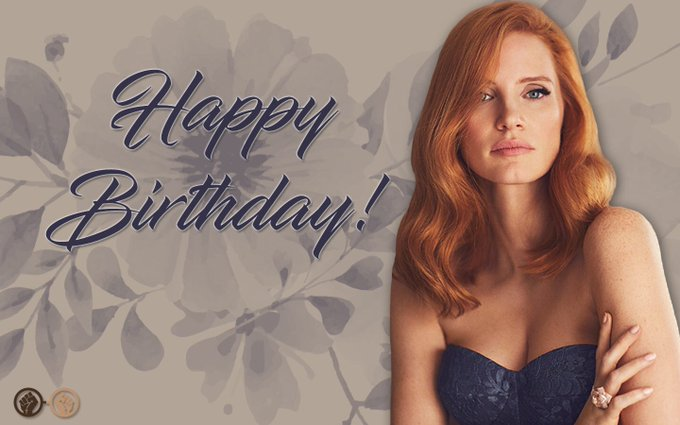 Happy birthday, Jessica Chastain! The talented actress turns 41 today. We wish her all the best!