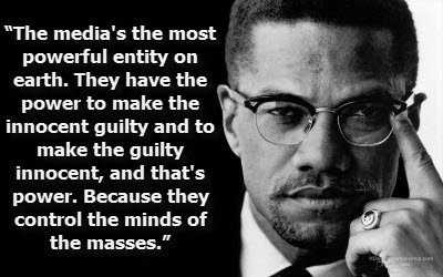 Words of Wisdom from Bro. Minister Malcolm X (el-Hajj Malik el-Shabazz). https://t.co/TOex0uLjLM