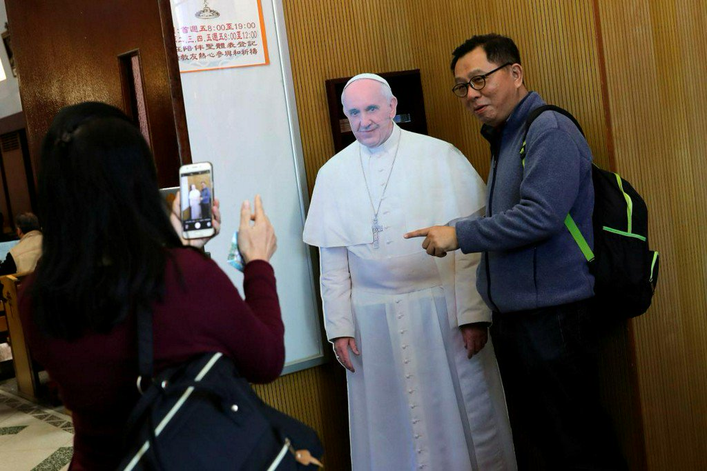 As Vatican and China talk, Taiwan looks on nervously