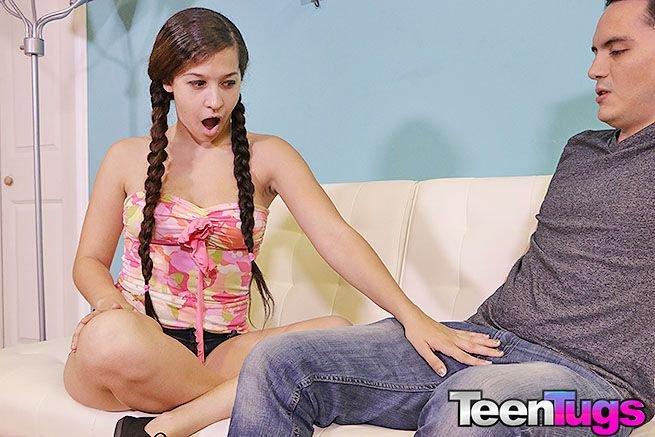 #handjob #teentugs Adorable beauty is the ultimate handjob teen! LINK: eXwTCvmhQs