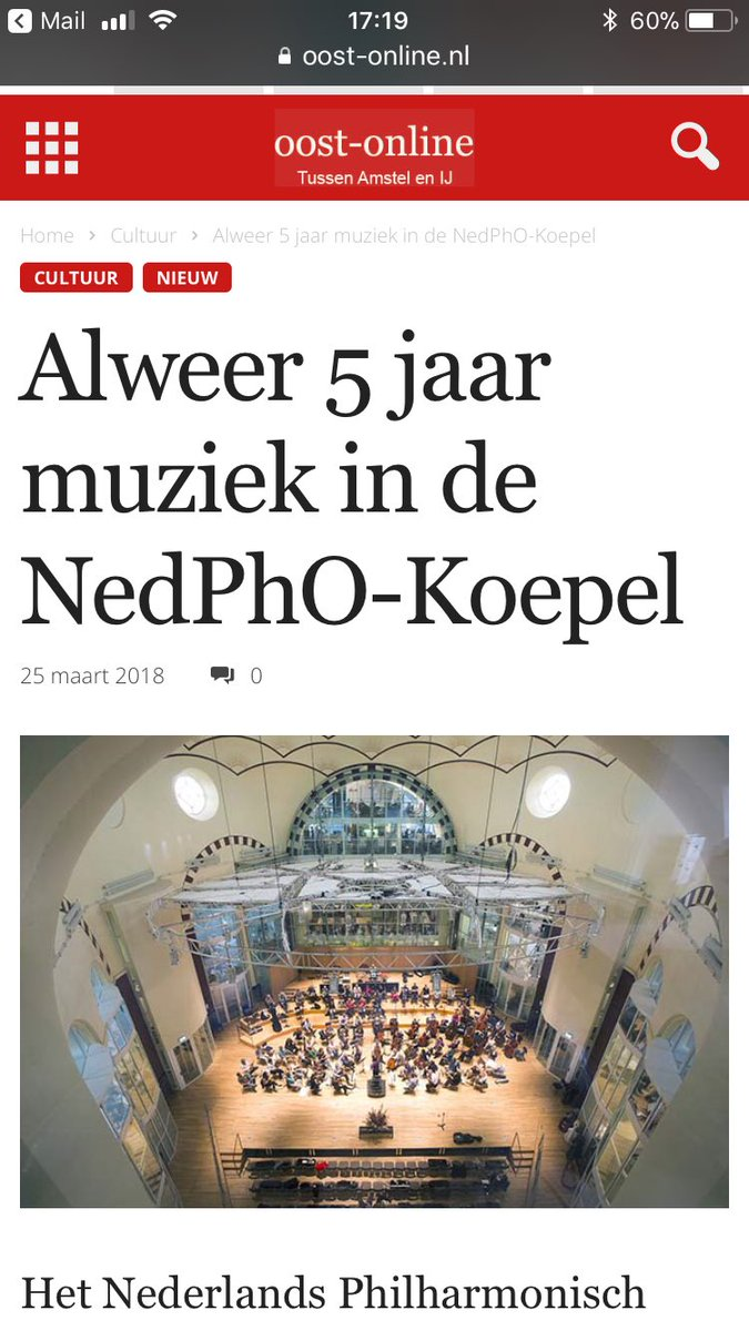 test Twitter Media - 31 maart via @oostonline aankondiging jubileum @NedPhO_NKO kom langs: https://t.co/49FzloxHsE https://t.co/iy4EUJv5lz